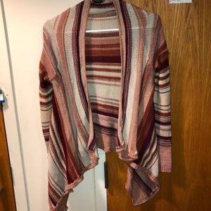 Brown striped sweater